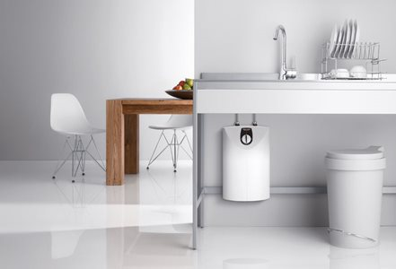 STIEBEL s SNU 10S guarantees immediate hot water at your kitchen sink