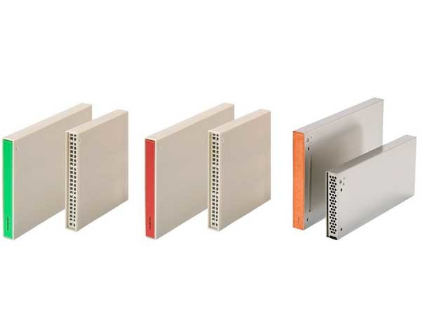 Weepa Products has a range of weep hole formers suitable for all applications: (from left) Standard Weepa, Bushfire Weepa and Stainless Steel Weepa - all available in two sizes