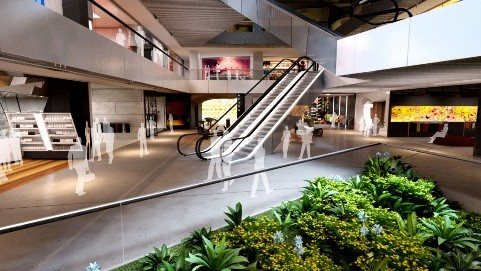 Retail Space Revealed At Central Park In Sydney