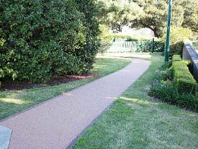 Lay pathways with decorative pavers