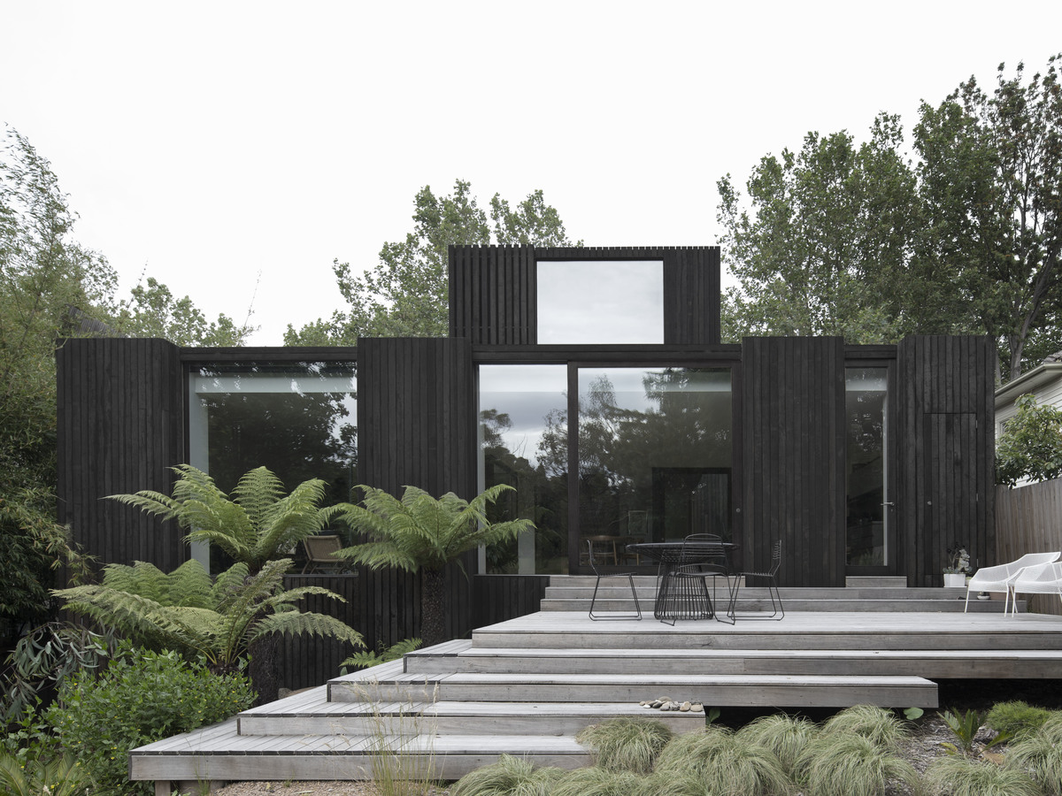Designing a home that becomes part of the landscape
