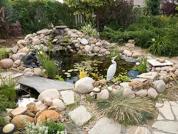 Water features come in a myriad of styles and designs