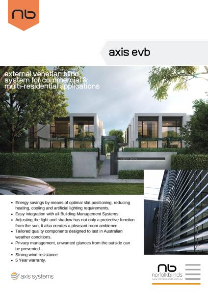 Axis EVB Specification Sheet