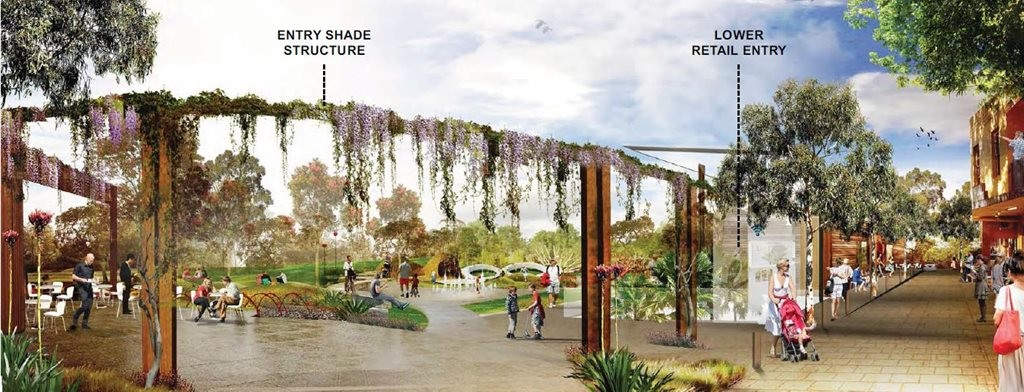 Design Concepts Released For New Lane Cove Park And Public Space