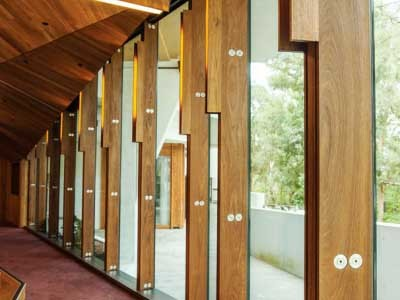 Blackbutt Timber Fins Blend Perfectly With Natural