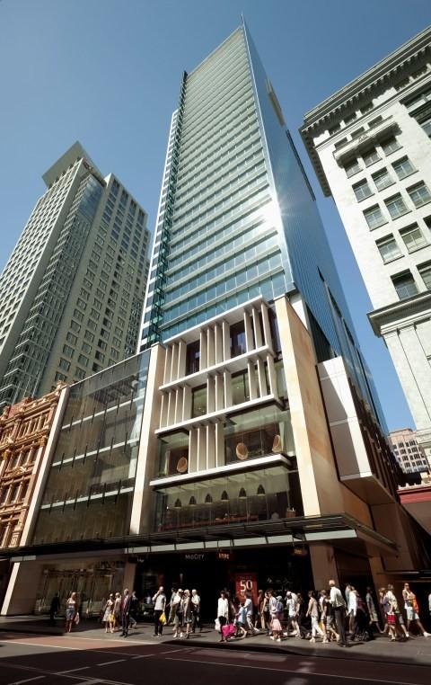 420 George Street Sydney Achieves Green Star First