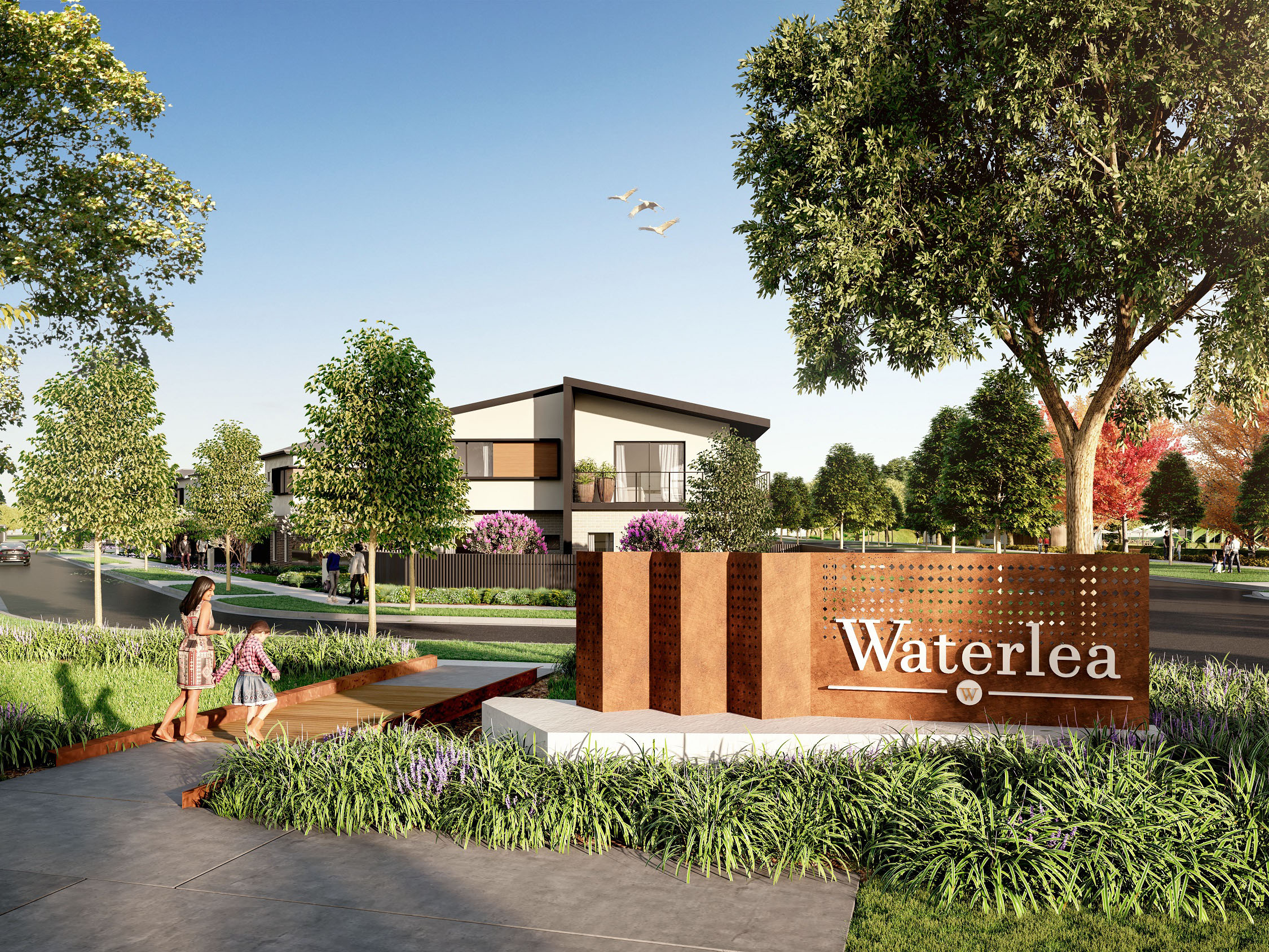 Stockland is lauding the start of construction of Waterlea, the latest sustainable community, that forms part of its growing medium density pipeline of more than 3,000 townhomes across the country. Iameg: Supplied