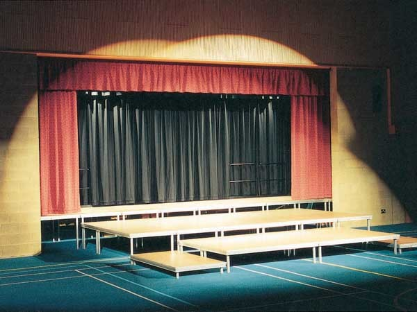 QUATTRO Stage systems can be combined with various accessories to create multiple performance or event stage platforms