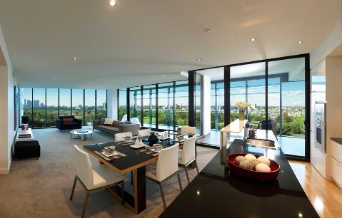 Top shelf apartments moving in Melbourne market Architecture And