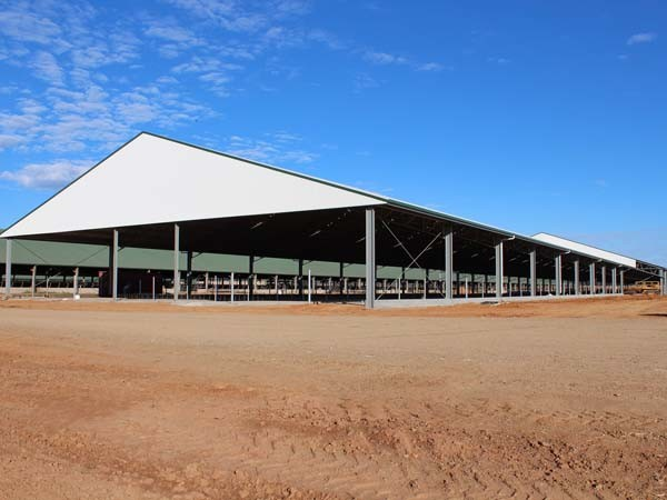 Structural steel for sheds and shelters