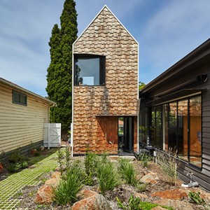 Tower House by Andrew Maynard Architects is really a village with a fifth facade