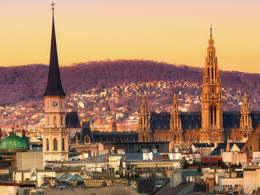 Vienna knocked Melbourne out of its seven-year-long top spot as the 'world's most liveable city'. from shutterstock.com