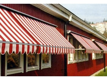 Pivot Arm Awnings - System 6000 pivot arm awning