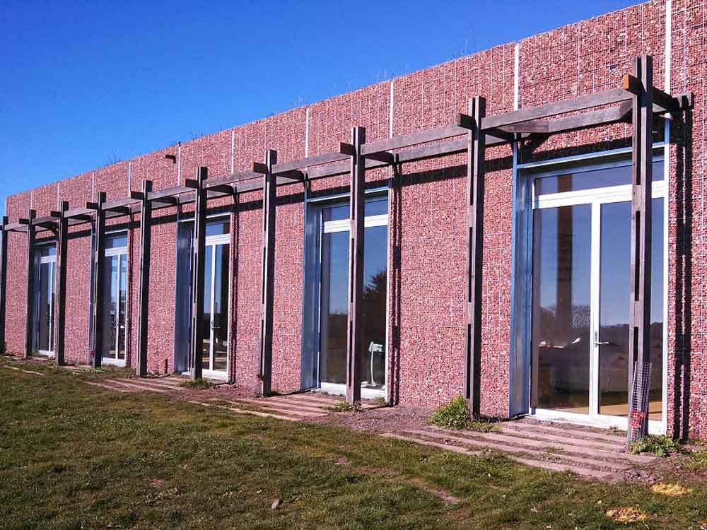 The doors and windows featured Forster Unico thermally broken steel framing