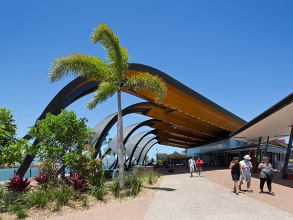 Townsville Cruise Terminal by Arkhefield. Photo: Angus Martin