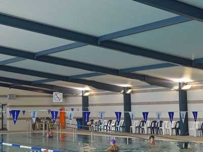 ARCPANEL roof at Bracken Ridge Aquatic Centre