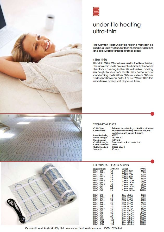Electric Floor Heating For Most Floors Architecture And