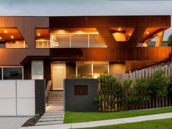 Corten Steel Cassette Panels Specified For Sunshine Coast