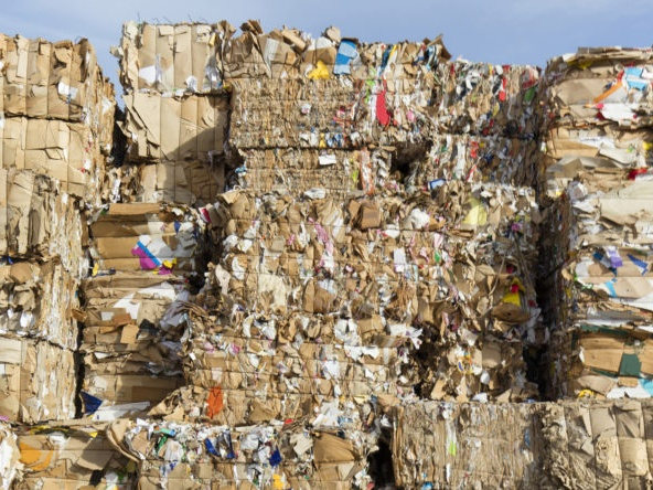 Paper recycling Indonesia