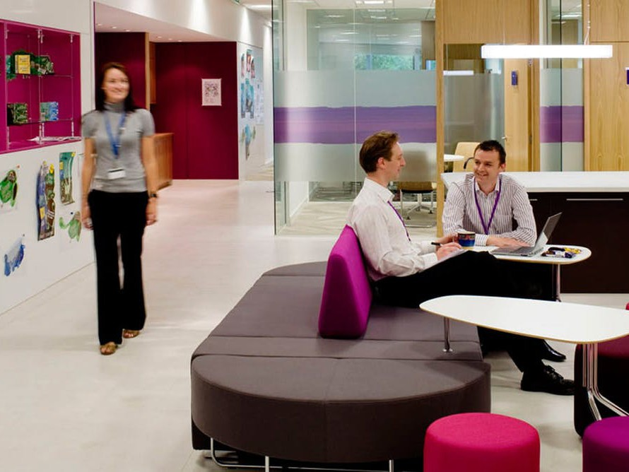Research shows open plan offices work for teams who set rules about their space. Image: K2 Space