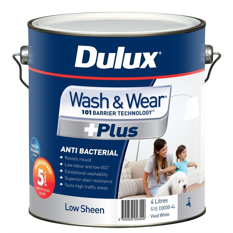 DULUX Wash & Wear®  Plus Low Sheen