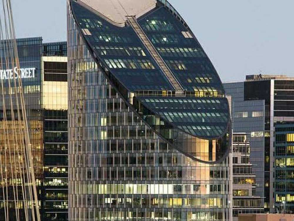 Custom shading solutions at Sydney CBD skyscraper exterior