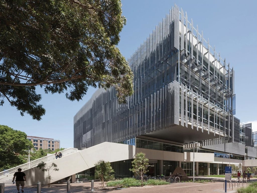 Melbourne School Of Design By John Wardle Architects