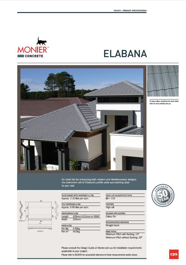 Monier Concrete Roof Tiles Your Home Looks Better For