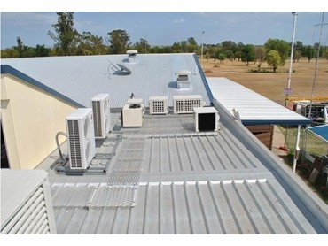 Air Conditioning Platforms Used In Alterations At