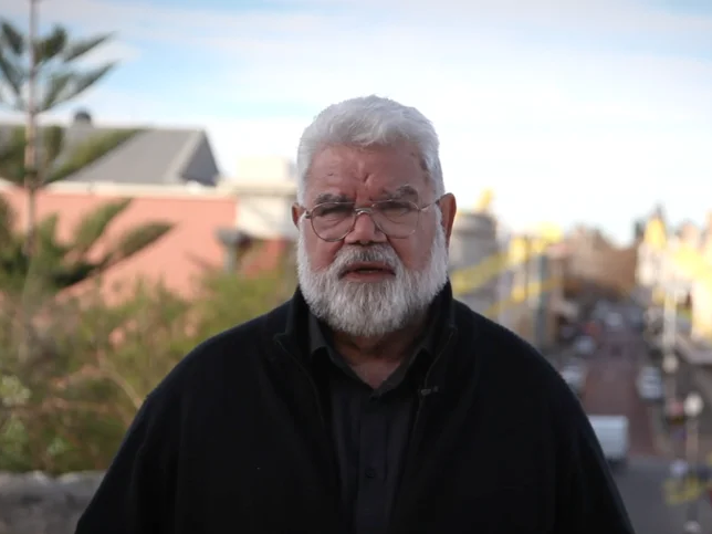 Dr Noel Nannup, a Kurongkurl Katitjin Elder and cultural ambassador on AILA's Connection to Country Committee.