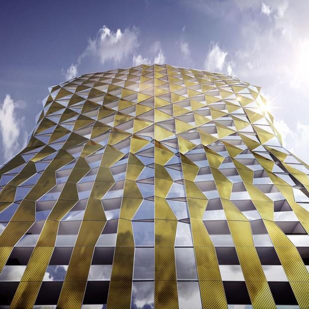 Adelaide s tallest residential building by elenberg fraser for Adelaide residential architects
