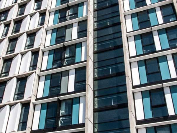 MAX double glazed frames installed on Victoria University student accommodation tower
