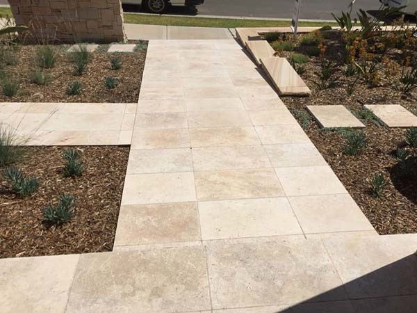 Travertine Lookalikes (Image credit: Horizon Homes, Display Home Kellyville)