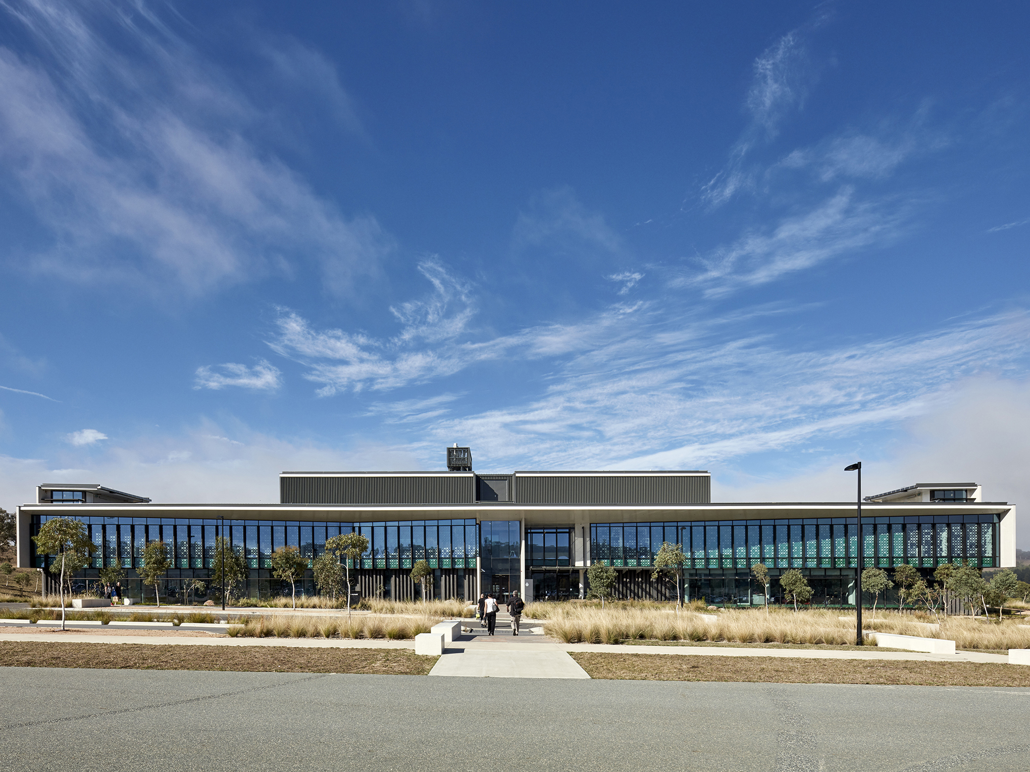 The AFP Forensics and Data Centre. Photography by Christopher Frederick Jones
