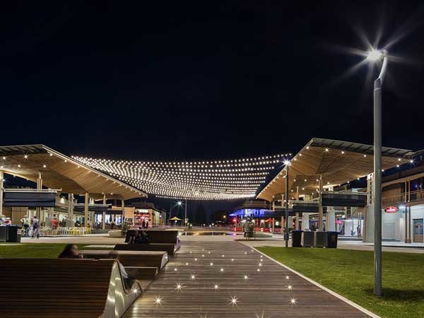 Tensile Designed Catenary Lighting System Lights Up Henley