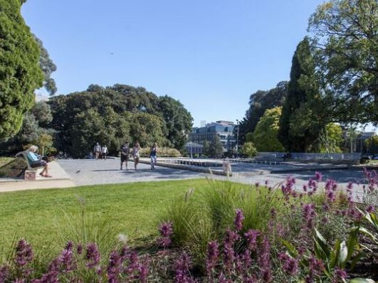 Under new City of Melbourne draft landscape concept plans, Lincoln Square will be expanded and made more amenable over the next five years. Image: City of Melbourne