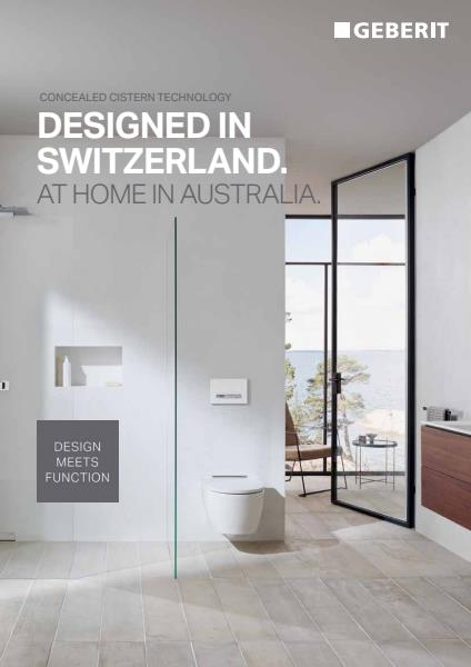 Concealed Cistern and Button Brochure