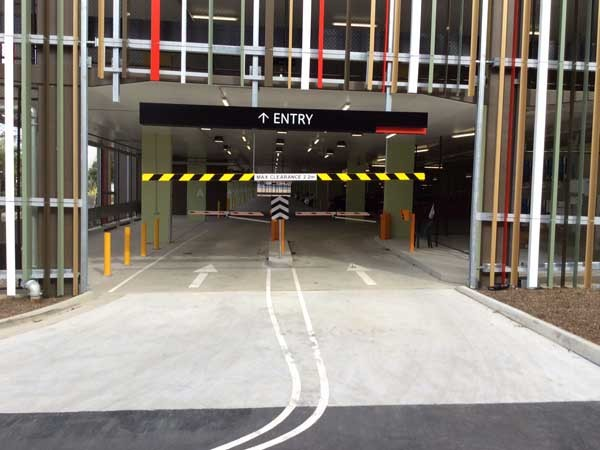 Magnetic's MHTM Parking Pro boom gates at the car park