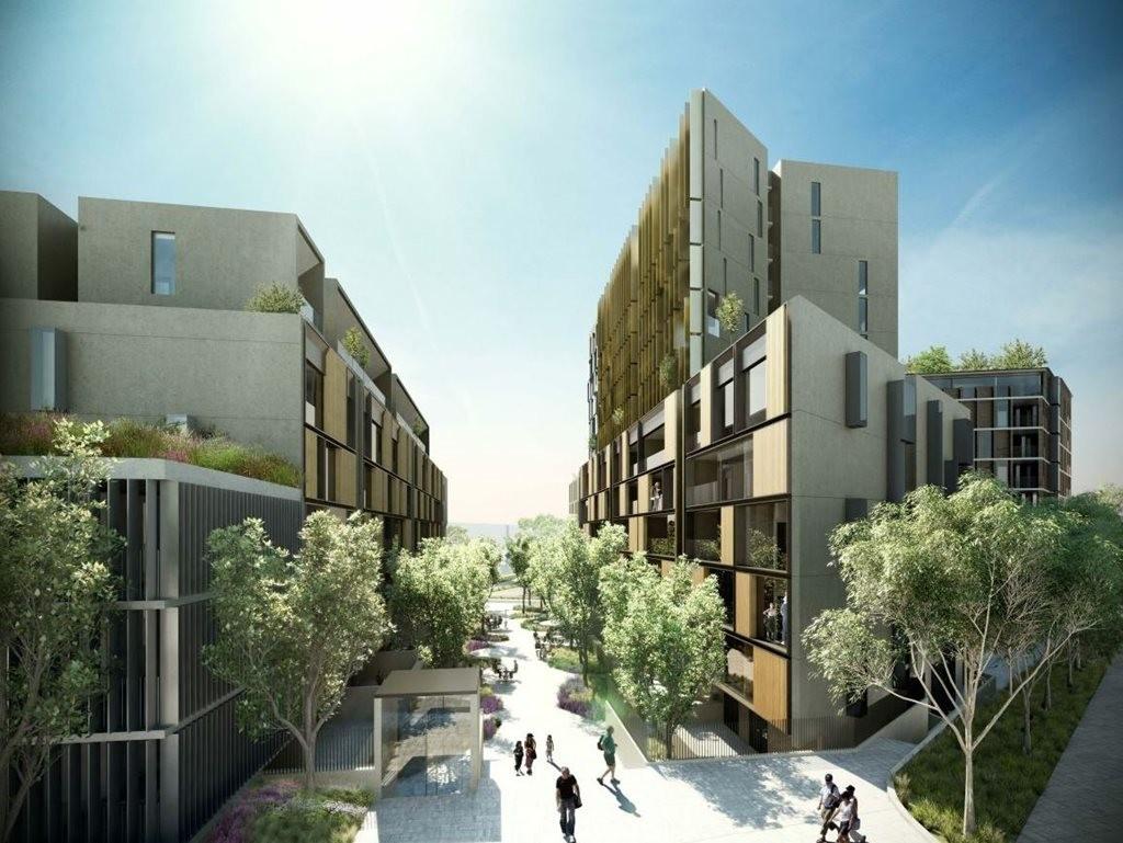 Bvn Propose Cluster Of Buildings For 110 Million Zetland