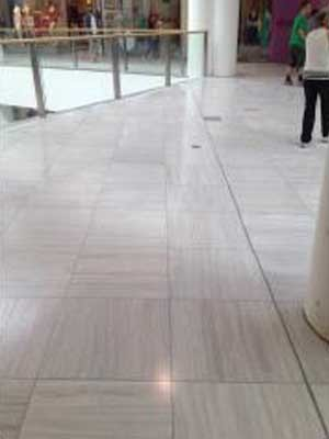 Ardex systems were specified for the Westfield Miranda retiling project