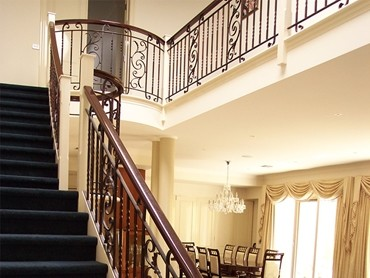 Wrought Iron Balustrades - Broken Panel Wrought Iron 01