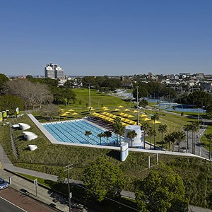Prince Alfred Park & Pool, Sydney by Sue Barnsley Design