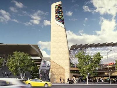 The proposed Southern Cross Station (Image: AirRail Melbourne Consortium)