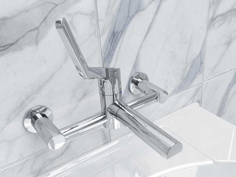 Sequential Leva basin mixer