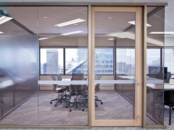 Criterion partitioning systems at the MLC Centre