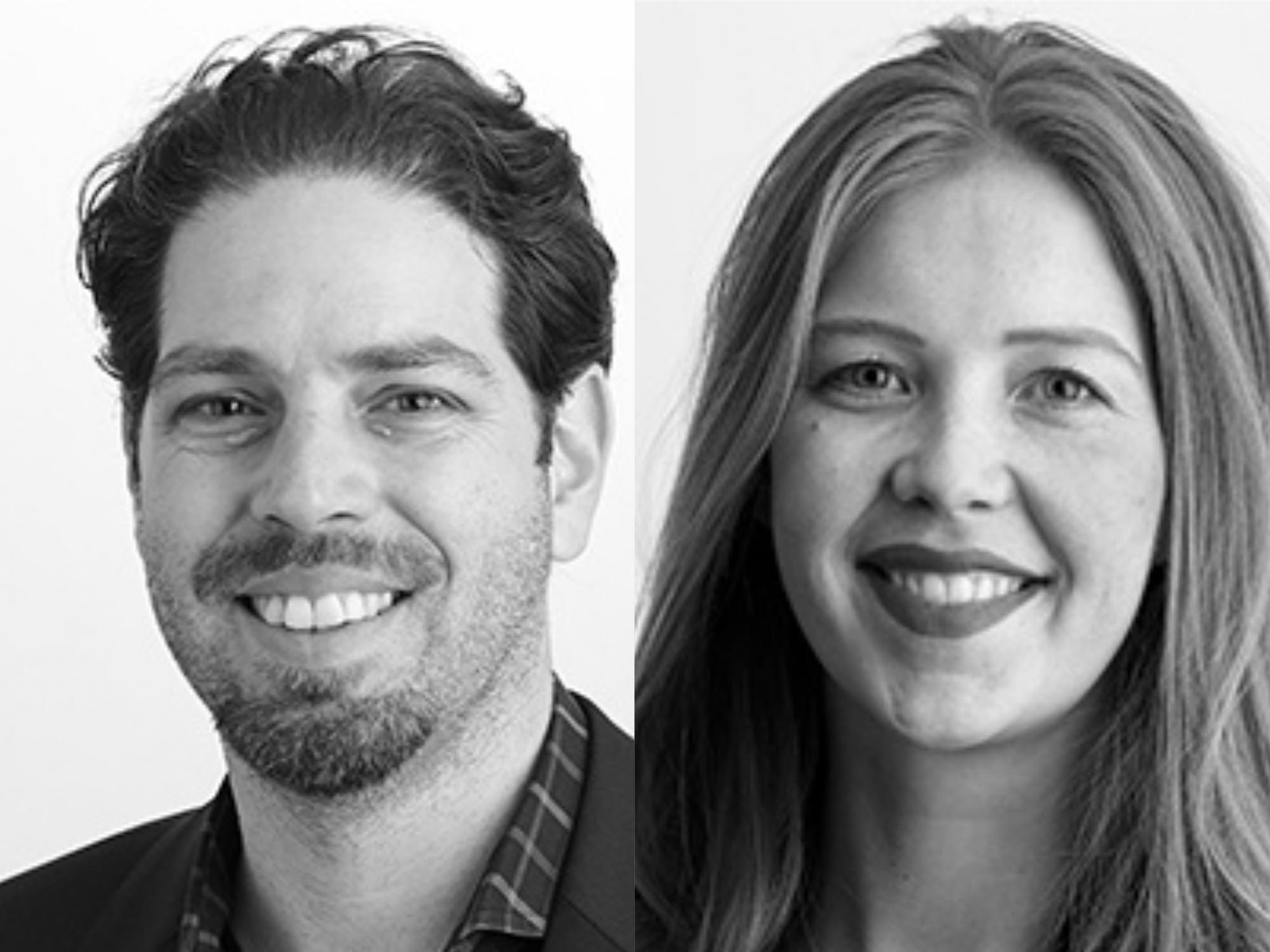 Architectus has announced the promotion of senior associate Marina Carroll (right) to principal and the appointment of principal Marko Damic (left).