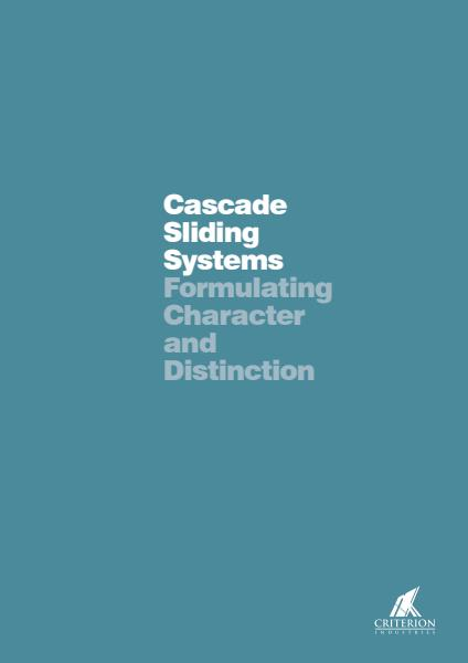 Cascade Sliding Systems