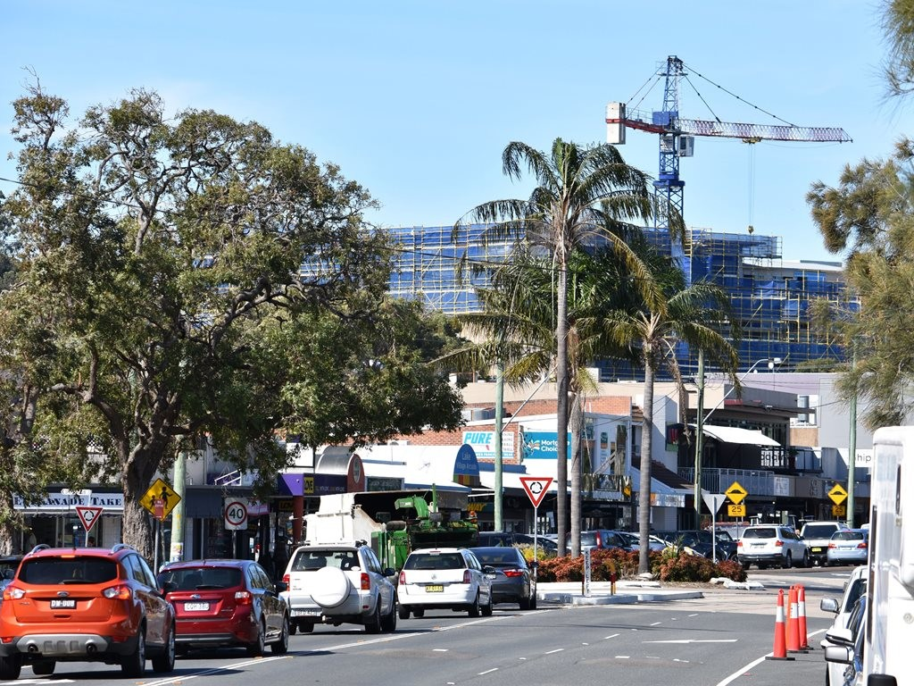 The popular NSW holiday destination area of Lake Macquarie is being transformed at a breakneck rate with a frenzy of construction and development in the area. Image: Supplied