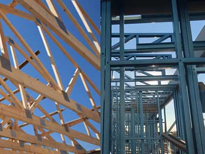 Steel Frames Vs Timber Frames