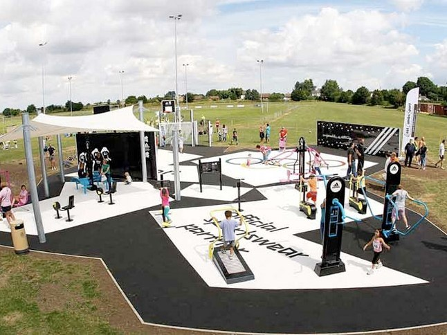 Outdoor gyms are popping up all over the world